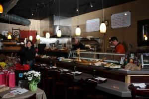 Hana Japanese Eatery interior